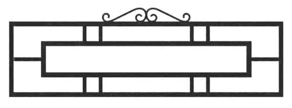 Ограда стальная №40