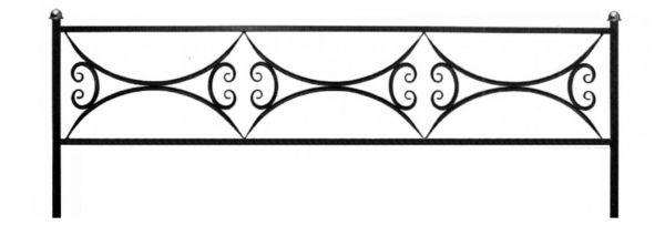 Ограда арочная 15