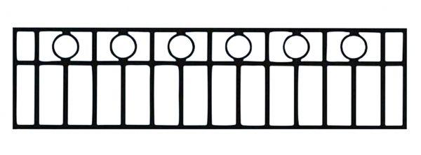 Ограда стальная №46