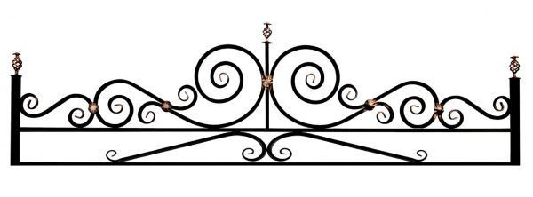 Ограда Эвольвента 20 на поясе