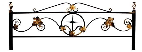 Ограда Кованный лист