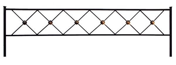 Ограда квадрат