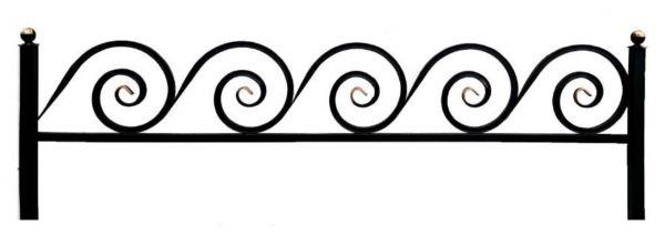 Ограда улитка 20