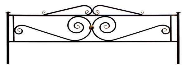 Ограда Виктория с навершием