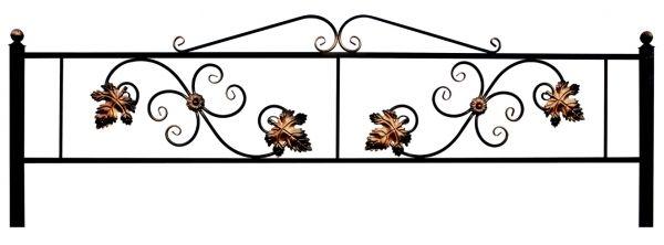 Ограда Водолей с листом