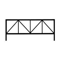 Ограда стальная №27